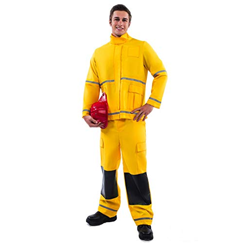 (Morph Yellow Fireman Costume -)