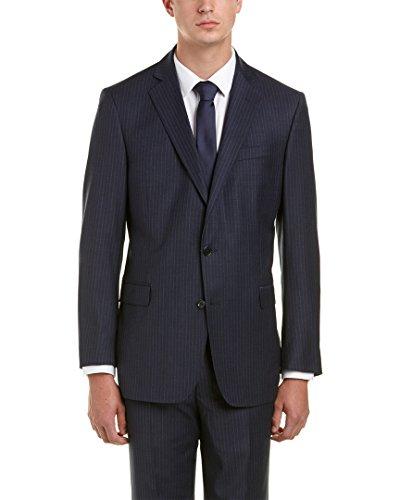 Brooks Brothers Mens Regent Fit Wool-Blend Suit Separates Jacket, 46L, - Brothers Blues Suit