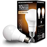 GOODSMANN Smart Led Light Bulbs, A21 Dimmable White Color Wi-FI Voice Control, Compatible with Amazon Alexa and Google Home, No Hub Required 9910-A210-D