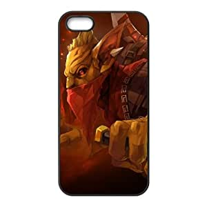 Dota2 BOUNTY HUNTER iPhone 5 5s Cell Phone Case Black 82You421161