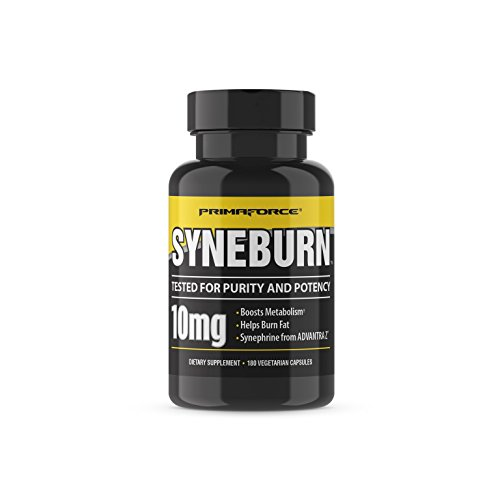 Primaforce Syneburn Supplement  180 Capsules   Boosts Metabolism   Helps Burn Fat   Synephrine From Advantra Z