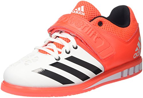 Shoes White Indoor adidas Multisport Unisex White Powerlift Red Adults' XRRpwC