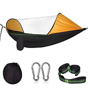 Amazon.com : Cambond 2 in 1 Large Camping Hammock with Net