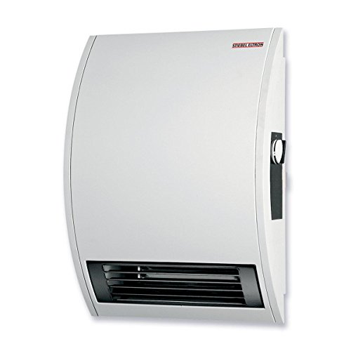 Stiebel Eltron CK 15E 120-Volt 1500-Watts Wall Mounted Electric Fan (Bathroom Wall Heaters)