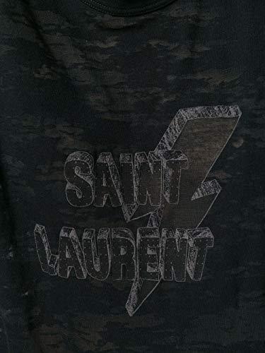 nero Grigio Donna Cotone shirt Saint Laurent 510086yb2pj1003 T YtFP0wq