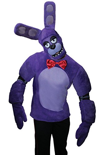 [Rubie's Men's Five Nights At Freddy's Bonnie Costume, Multi, Small] (Fnaf Bonnie Costume)