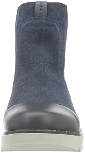 Sanita Damen Lise Boot Schlupfstiefel Blau (Blueberry 75)