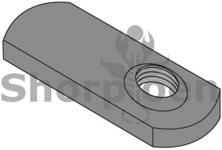 Box of 1000 SHORPIOEN Spot Weld Offset Hole Tab Weld Nut Plain 10-24 BC-10NWS1