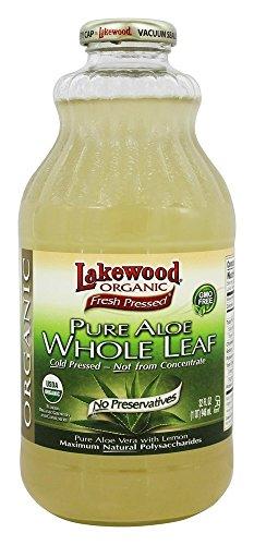 (Lakewood Organic - Organic Pure Aloe Whole Leaf Juice - 32 oz.)