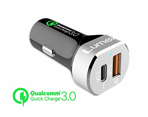 lumex-2-port-usb-car-charger-6a-39w-quick-charge-30-dual-port-with-usb-type-c-for-iphone-7-6s-6-6-pl