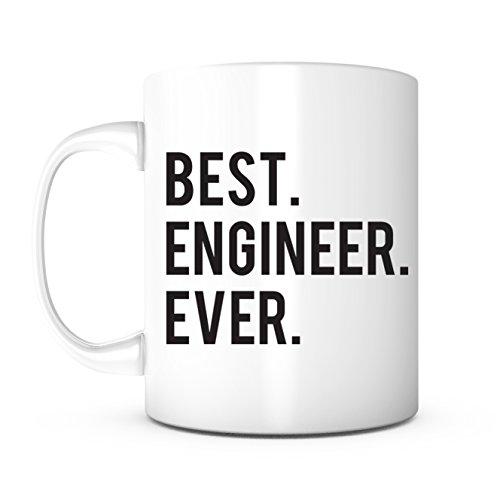 Best Engineer Ever-Coworker Gift,Engineer Gift,Mechanical Engineer,Aerospace Engineer, World's Best Engineer,Civil Engineer,Father's Day Gift,Mother's Day Gift,Chemical Engineer,Engineer Coffee Mug (Best Gifts For Aerospace Engineers)