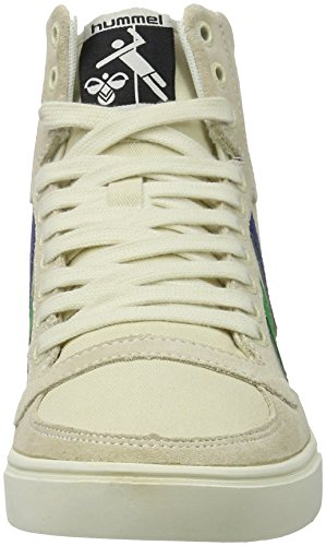 Hummel Sl Stadil Duo Canvas High, Zapatillas Altas Unisex Adulto Blanco (Pristine White)