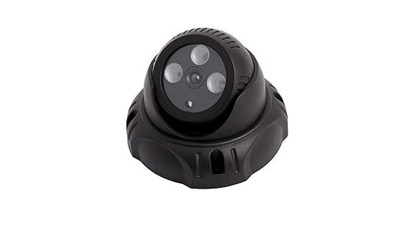 Amazon.com: eDealMax LED Rojo cámara falsa simulada de la bóveda de vigilancia de seguridad intermitente: Electronics