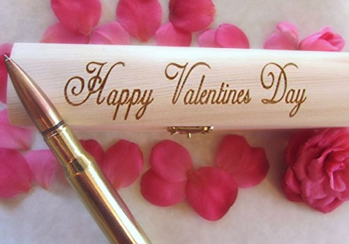 Gifts For Men   50 Caliber Bullet Pen   Made In USA   Custom Engraved Personalized Box   Great For Anniversary, Birthday or Retirement by Brass Honcho (Image #4)