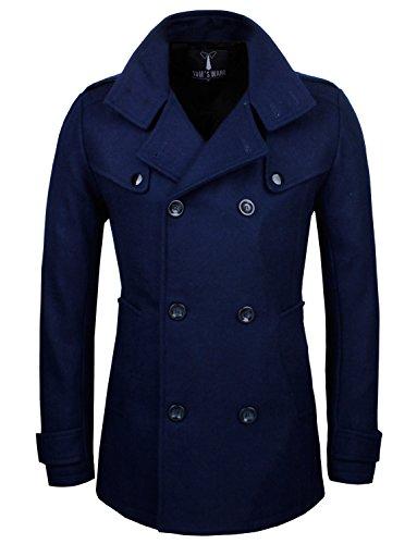 Us Navy Wool Peacoat Jacket - 6