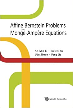 Affine Bernstein Problems And Monge-Ampere Equations