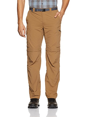 Columbia Men's Silver Ridge Convertible Pant, Delta, 36x32 (Pants Men Zip Off)