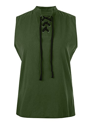 Mens Rogue Shirt Renaissance Medieval Green Pirat Steampunk Costume Viking Tunic