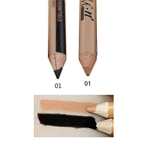 Hot Sale 2 In 1 Make Up Pencil Color Corrector Double-Ended Waterproof Concealer Eyebrow Pencil Cheap Makeup 1
