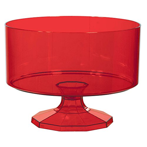 Red Trifle Container, Medium, Party Favor ()