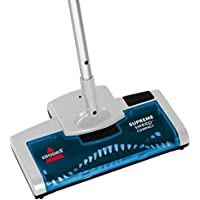 Bis 15d1e Supreme Sweep Compact Rechargeable Floor Sweeper Silver Blue