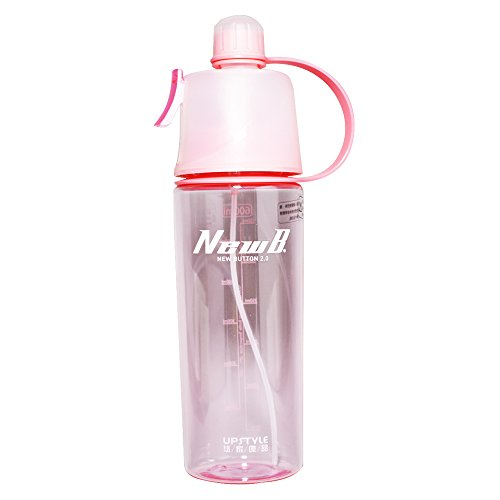 UPSTYLE Plastic Spray Sports Water Bottle BPA Free Water Bot