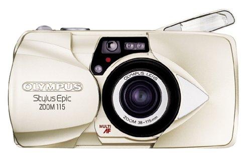 Olympus Stylus Epic Zoom 115 QD Date 35mm Camera Olympus Stylus 35 Mm