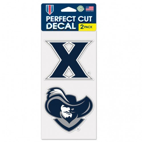 WinCraft NCAA Xavier University Perfect Cut Decal (Set of 2), 4