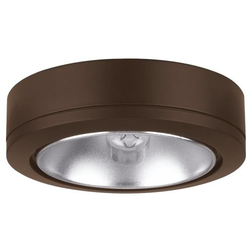 Ambiance Disk Light with Housing in Painted Antique Bronze