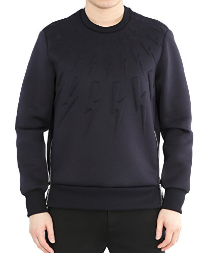 wiberlux-neil-barrett-mens-embossed-thunder-sweatshirt-side-zipper-s-blue