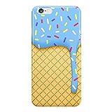 ice cream ipod case - Dripping Blue Ice Cream Phone Case - Hard Plastic, Snap-On Case - Fun Cases - iPod 5th Generation