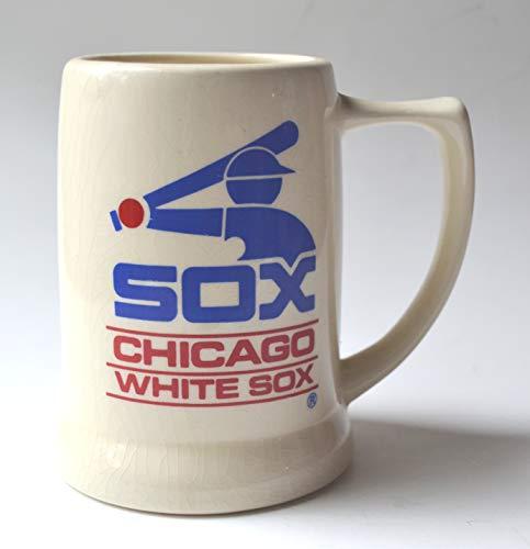 Chicago White Sox Vintage Off-White Tankard-Style Mug, Circa 1976-1986