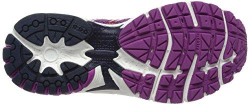 Brooks Vapor 4, Scarpe da Corsa Donna Multicolore (Hyacinthviolet/Peacoat/Livingcoral)