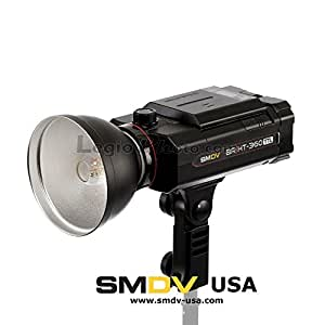 SMDV BRiHT-360 Compact Monolight, HSS, TTL, Battery Powered Bare Bulb Flash - Legio Photo Edition