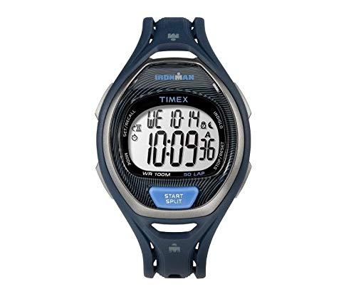 Timex Ironman Sleek 50 Full-Size Resin Strap Watch - Blue [TW5M17600JV]