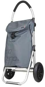 Einkaufs-Trolley aus Alu mit Spezialbereifung und Thermotasche Playmarket Go TT
