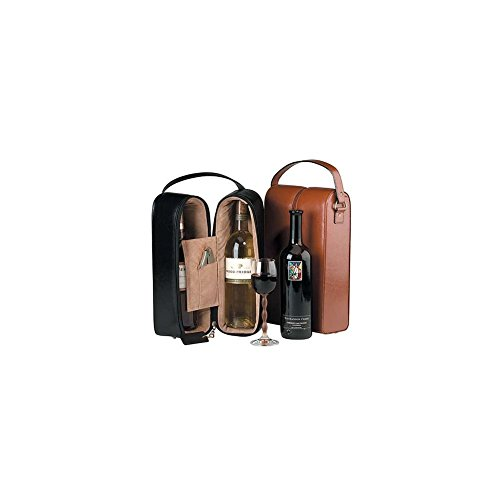 Royce Leather Double Wine Presentation Case -
