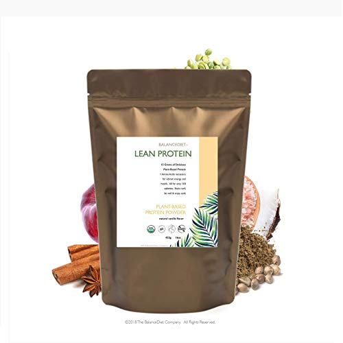 Vegan Protein 100% Premium Plant Based Protein By BalanceDiet - USDA Certified Organic,Raw, Non-GMOReceive The Highest Quality Vegan Sources Of Protein To Nourish Your Body
