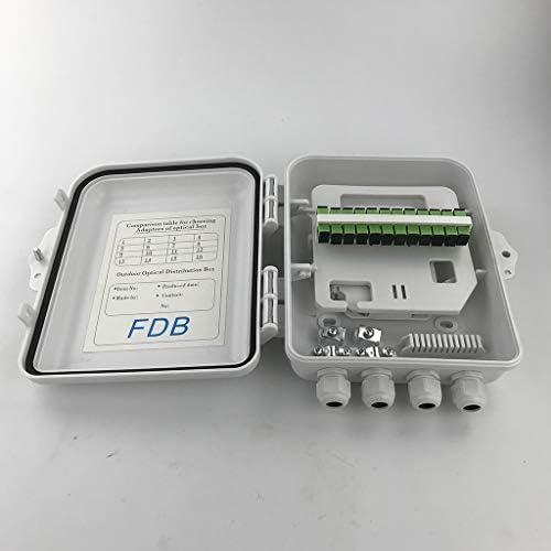 Gazechimp Herramienta de Empalme de Fibra FTTH combinada con 2 Bolsas Protectoras y medidor de Potencia /óptica con 1 Bolsa de Herramientas