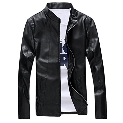 Quality Maschile Pu Coat High Outerwear Moda 4xl Black Sizes Regular xxl Xl xxxl Leather Zhuhaitf Mens 5xl Fit Jacket 5HqIfxw0