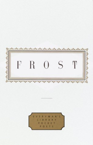 Frost  Poems  Everymans Library Pocket Poets Series