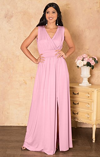 e33773d60fc KOH KOH Womens Long Bridesmaid Wedding Guest Cocktail Party Sexy ...