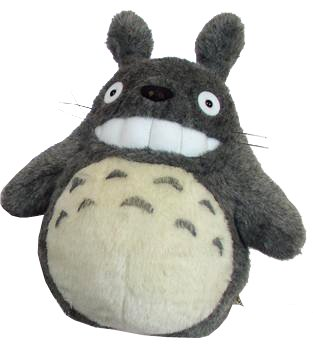 "Totoro 6"" Smiling Plush Doll [Toy] (japan ..."