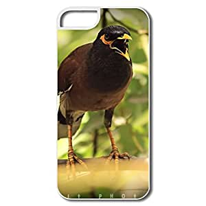 PTCY IPhone 5/5s Personalized Funny Agressive Bird