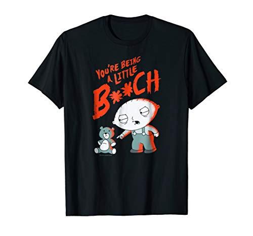 Family Guy Stewie Being A Little B T Shirt ()