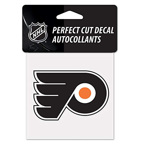 WinCraft NHL Philadelphia Flyers Perfect Cut Color Decal, 4