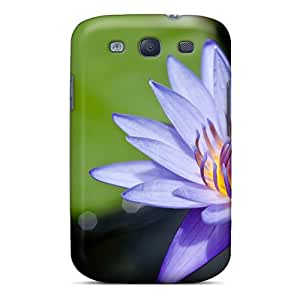 Protection Case For Galaxy S3 / Case Cover For Galaxy(water Lily Flower)