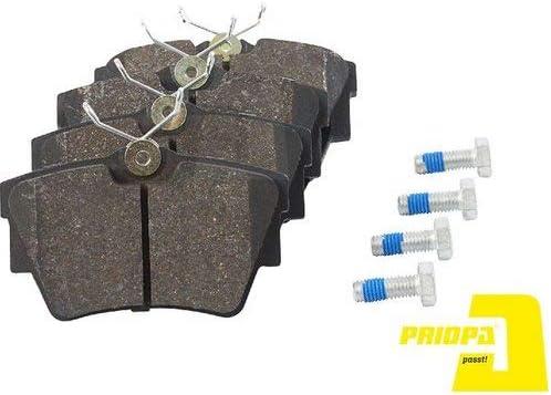 Priopa Bremskl/ötze Bremsbel/äge Bremsbelagsatz Hinterachse A898508
