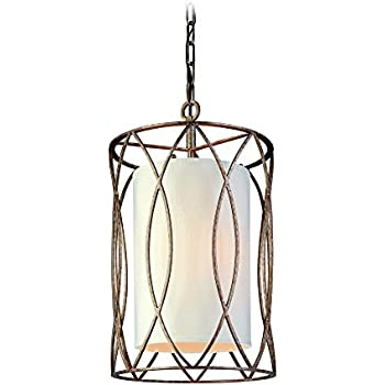 troy lighting sausalito 3 light pendant silver gold finish with