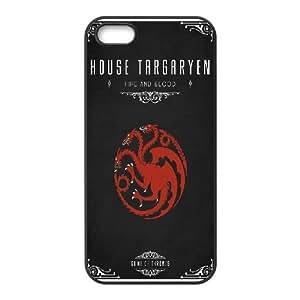 iPhone 4 4s Cell Phone Case Black Game Of Thrones House Targaryen JSK687470